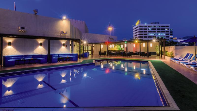 Tulip Inn Downtown Muscat  Pool