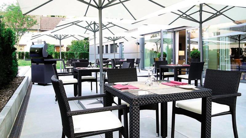 H+ Hotel Zürich Terrasse