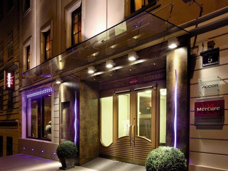 Hotel Mercure Secession Wien Außenaufnahme