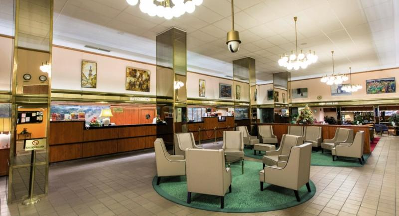 Hungaria City Center Lounge/Empfang