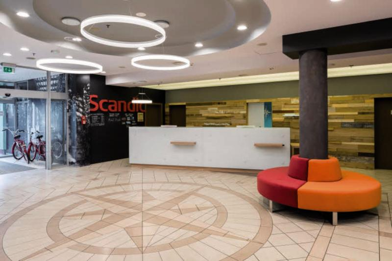 Scandic Wroclaw Lounge/Empfang