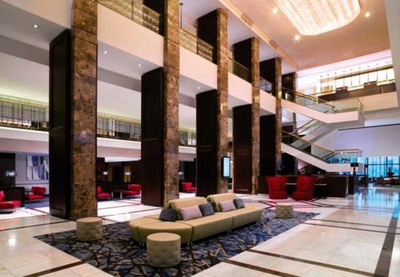 Warsaw Marriott Hotel Lounge/Empfang