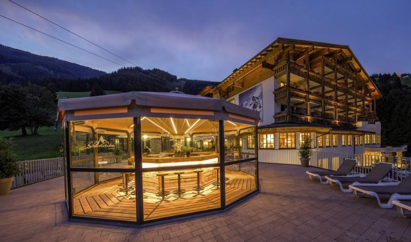 Alpine Resort Zell am See Terrasse