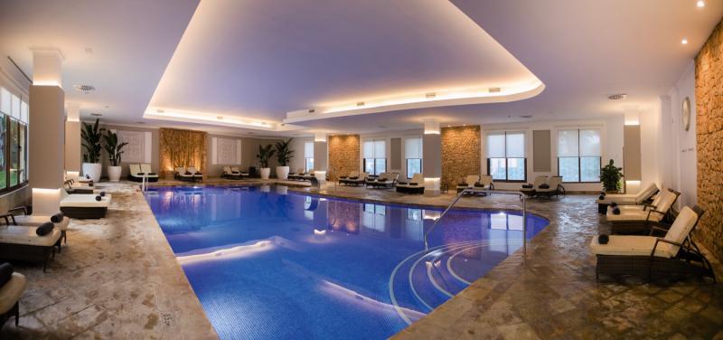 Son Caliu Hotel Spa Oasis Hallenbad