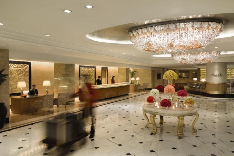 Shangri La Eros Hotel Neu Delhi Lounge/Empfang