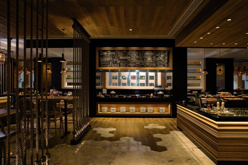 Shangri La Eros Hotel Neu Delhi Restaurant