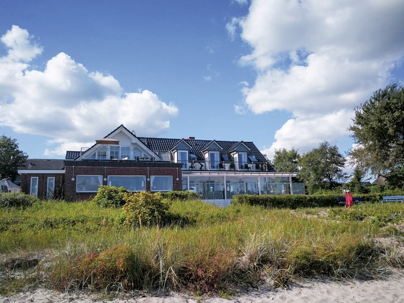 Lodge am Meer Landschaft
