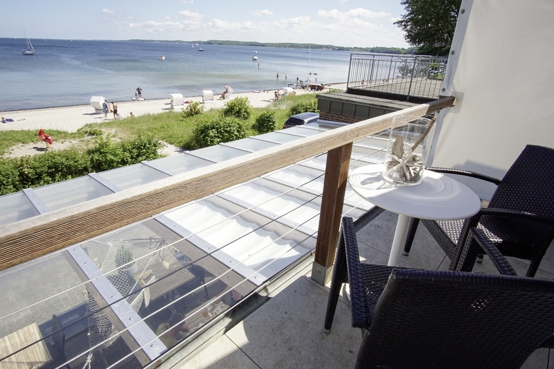 Lodge am Meer Terrasse