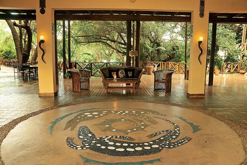 aha Chobe Marina Lodge Lounge/Empfang