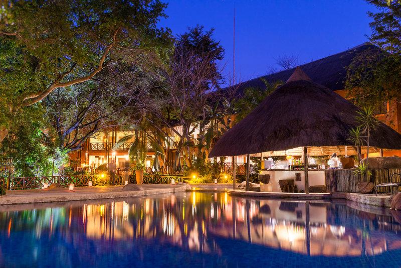 aha Chobe Marina Lodge Pool