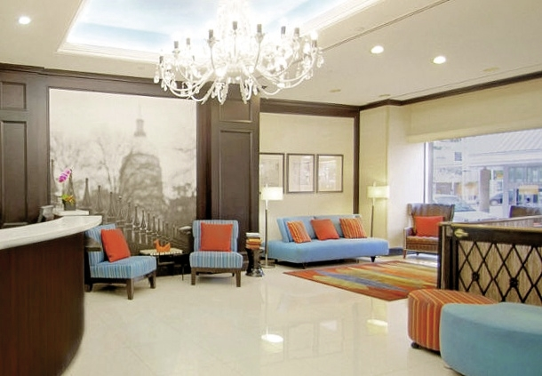 Fairfield Inn & Suites Downtown Atlanta Lounge/Empfang