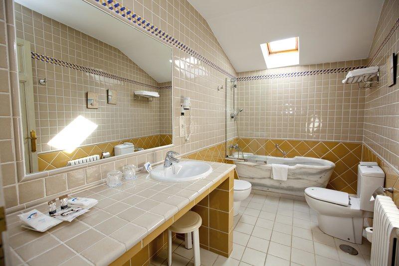 Termas De Cuntis - Hotel Castro do Balneario Badezimmer