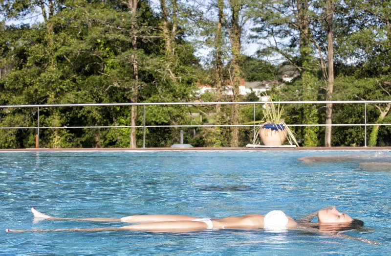 Termas De Cuntis - Hotel Castro do Balneario Pool
