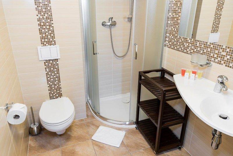 Hotel Sanus Badezimmer