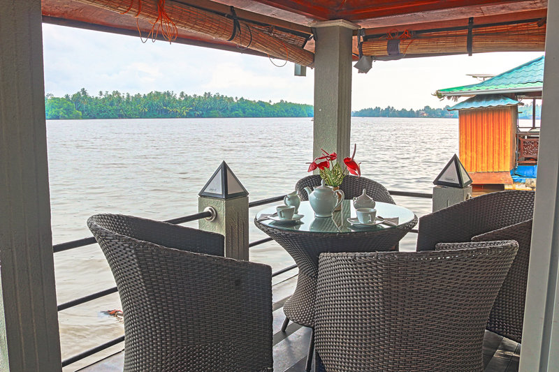 River View Villas Terrasse