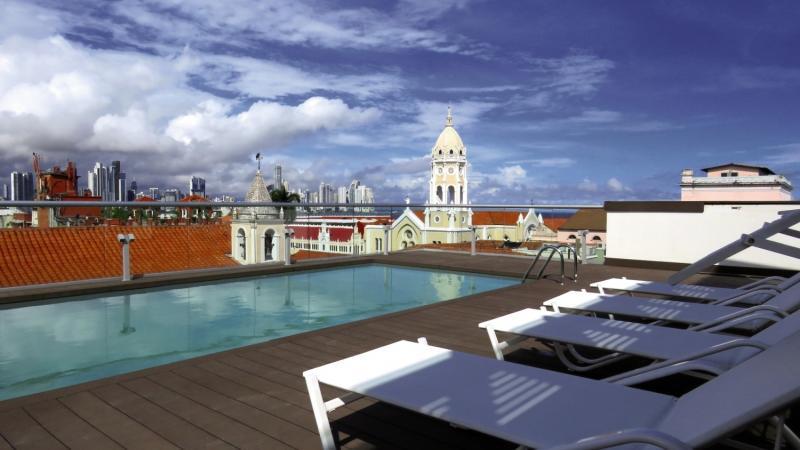 Central Hotel Panama Terrasse