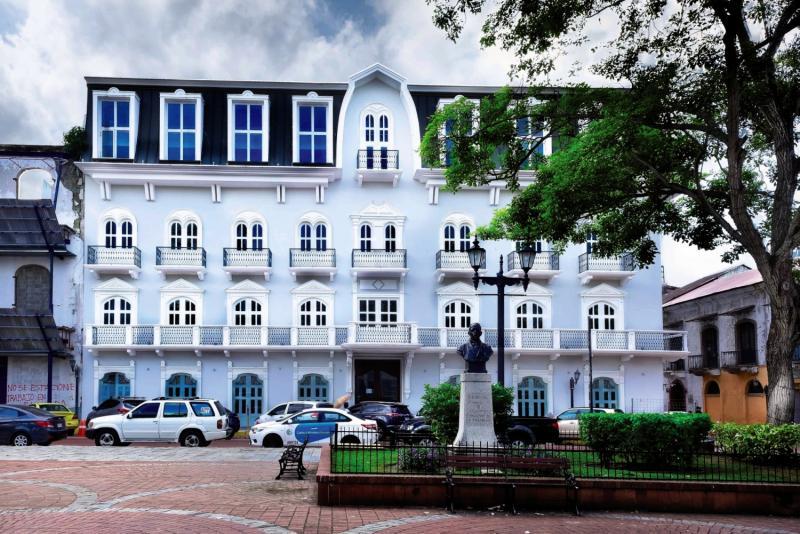Central Hotel Panama Außenaufnahme