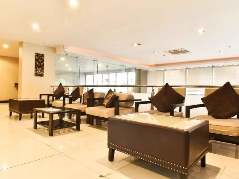Boss Suites Nana Hotel Lounge/Empfang