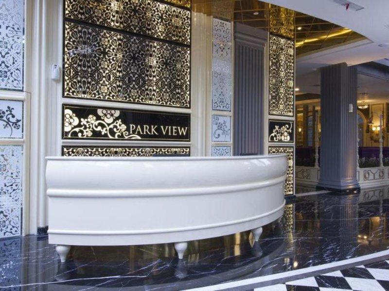 Park View Hotel Badezimmer