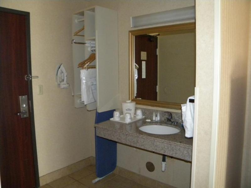 Baymont Inn & Suites Jackson Badezimmer