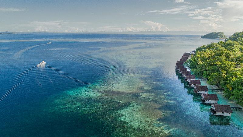 Papua Paradise Eco Resort Außenaufnahme