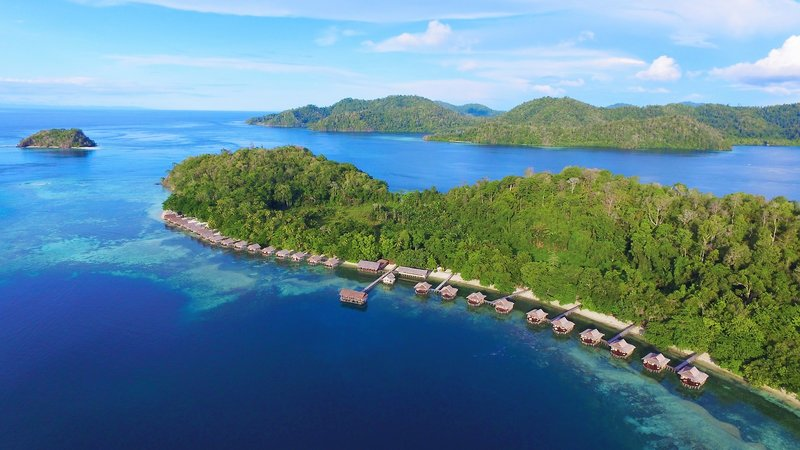 Papua Paradise Eco Resort Landschaft