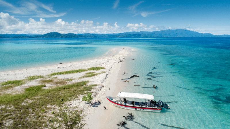 Papua Paradise Eco Resort Strand