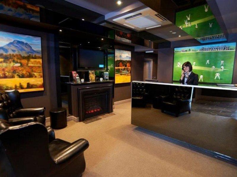 Quest East Melbourne Lounge/Empfang