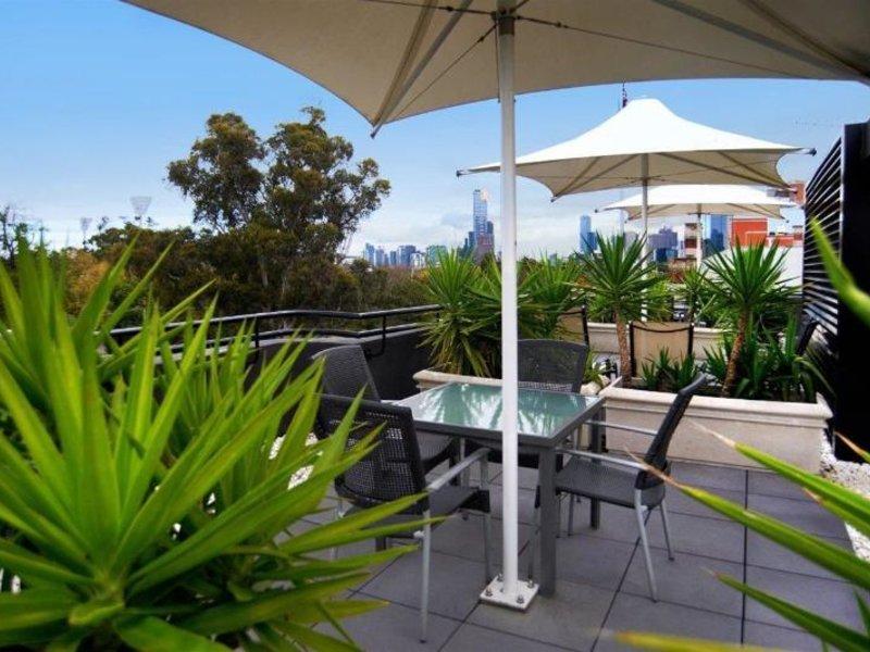 Quest East Melbourne Terrasse