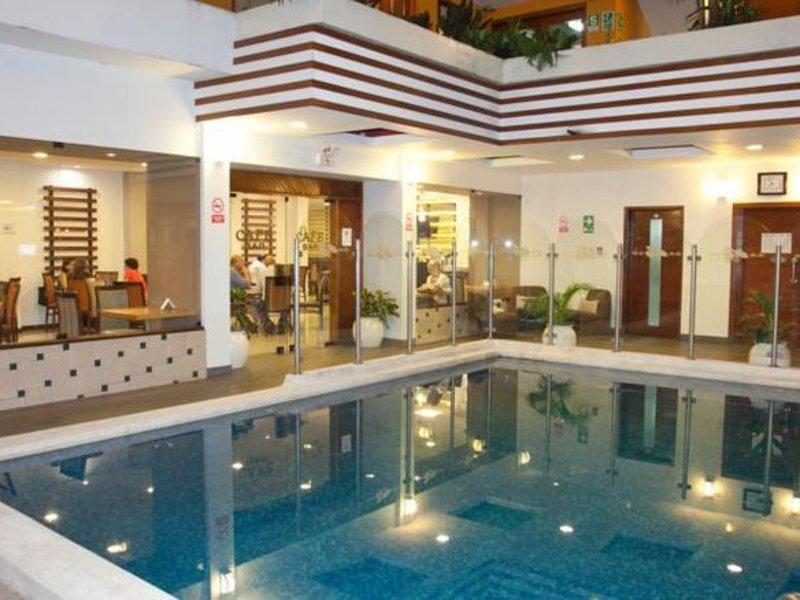Victoria Regia Hotel Hallenbad