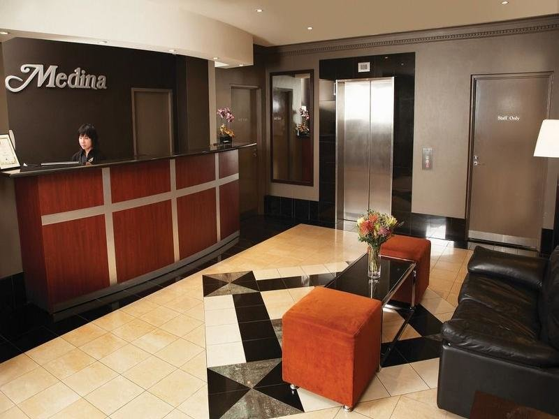Medina Serviced Apartments Martin Place Lounge/Empfang