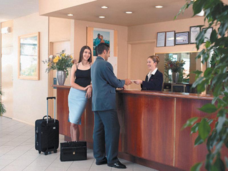 Metro Hotel Perth Lounge/Empfang