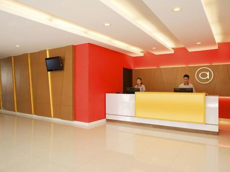 Amaris Hotel Embong Malang Lounge/Empfang