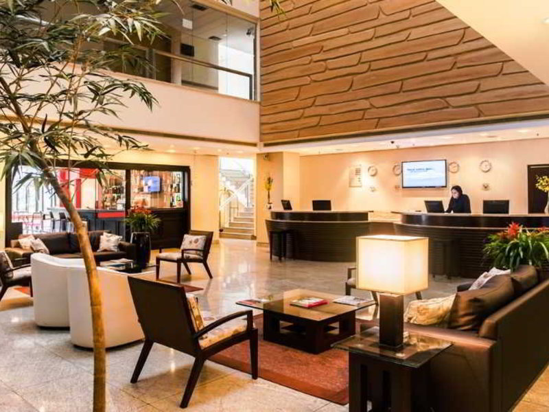 Prodigy Grand Hotel & Suites Berrini Lounge/Empfang