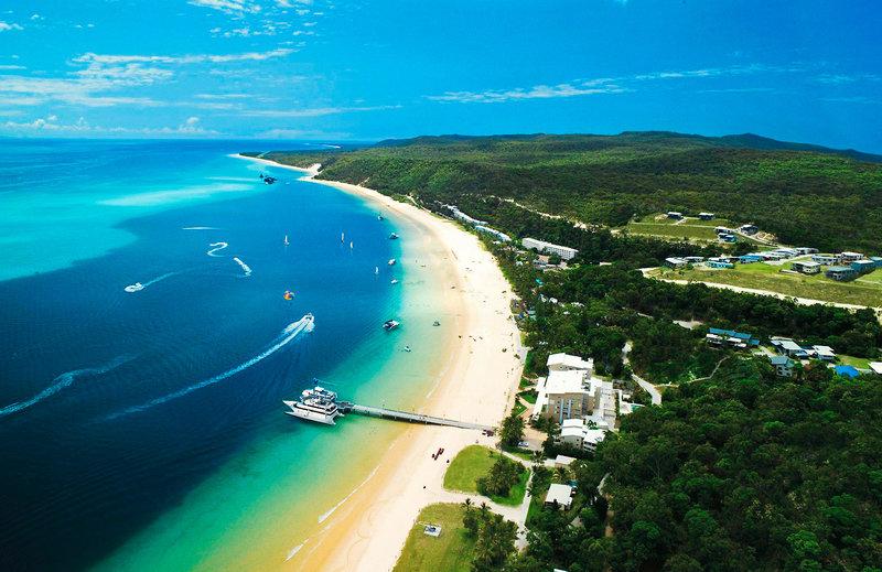 Tangalooma Island Resort Außenaufnahme
