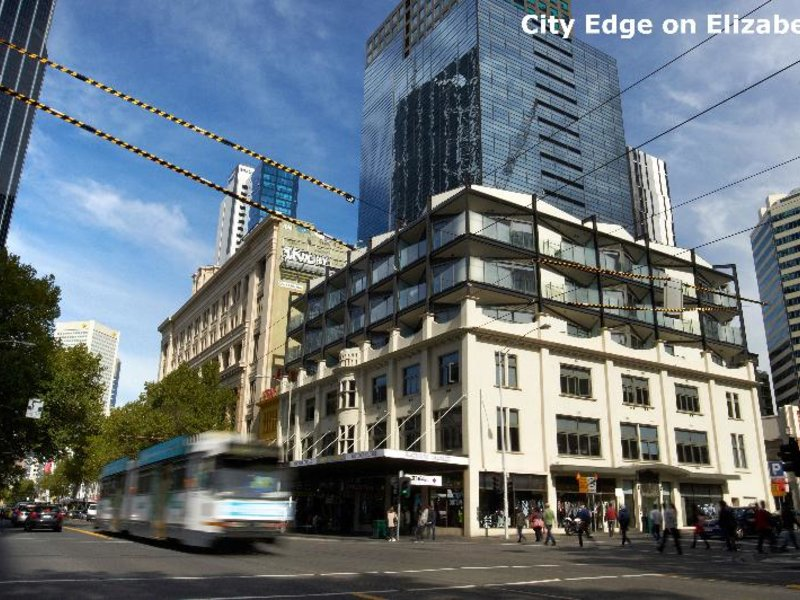 City Edge on Elizabeth Außenaufnahme