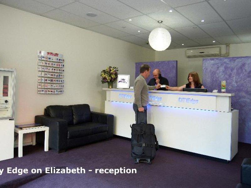 City Edge on Elizabeth Lounge/Empfang