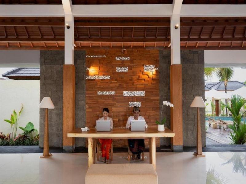The Sakaye Luxury Villas & Spa Lounge/Empfang