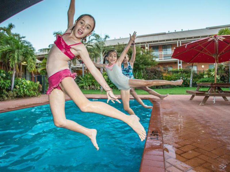 Best Western Karratha Central Appartements Pool