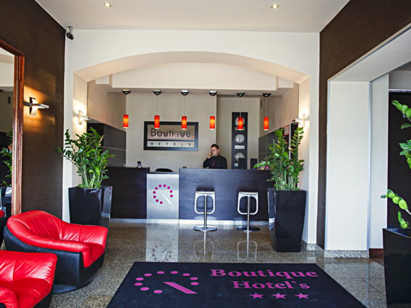 Boutique Hotel´s I Lodz Lounge/Empfang