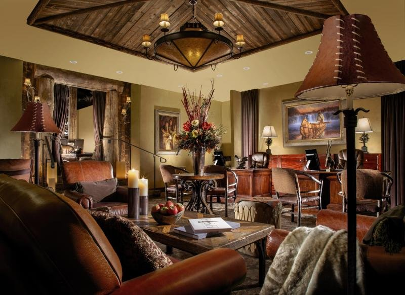 Rustic Inn at Jackson Hole Lounge/Empfang
