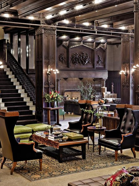 Chicago Athletic Association Lounge/Empfang