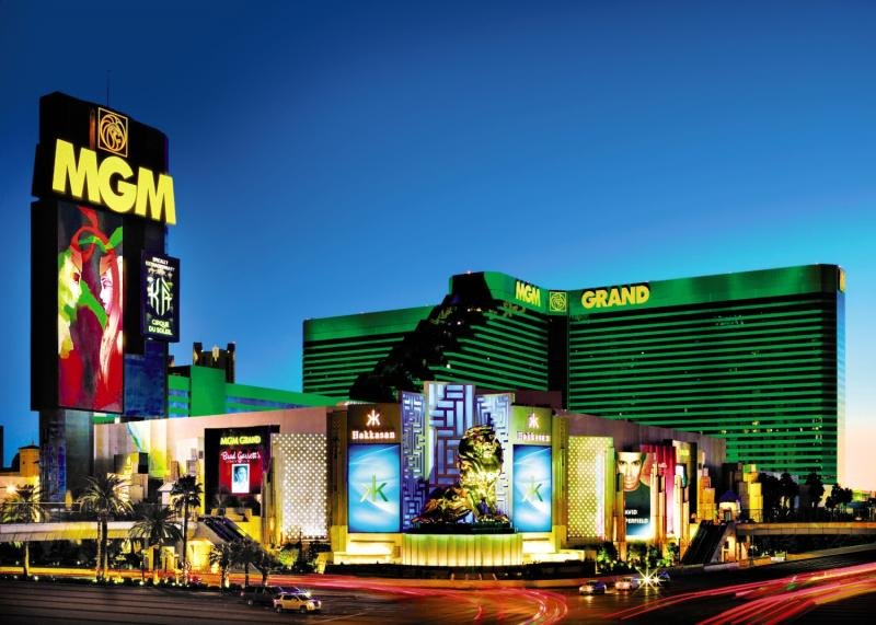 Mgm Grand Hotel & Casino Außenaufnahme