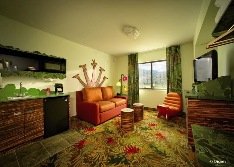Disney´s Art of Animation Resort Lounge/Empfang
