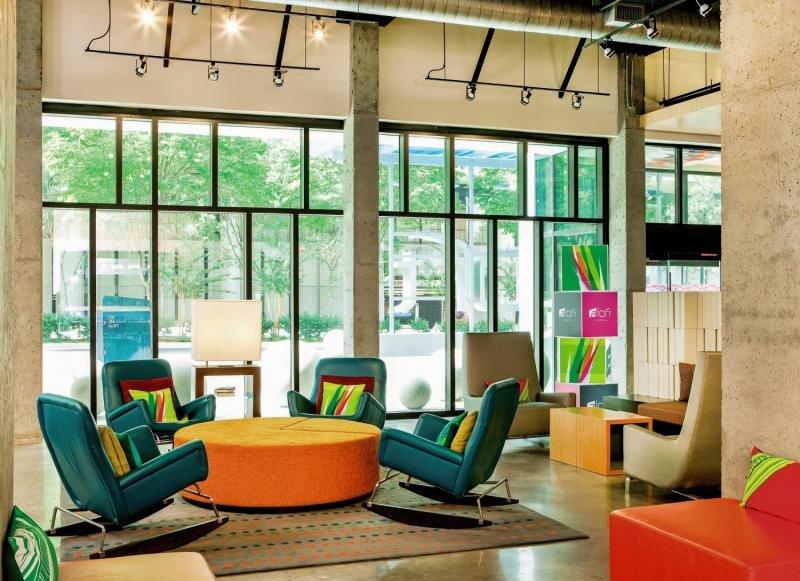 Aloft Atlanta Downtown Lounge/Empfang