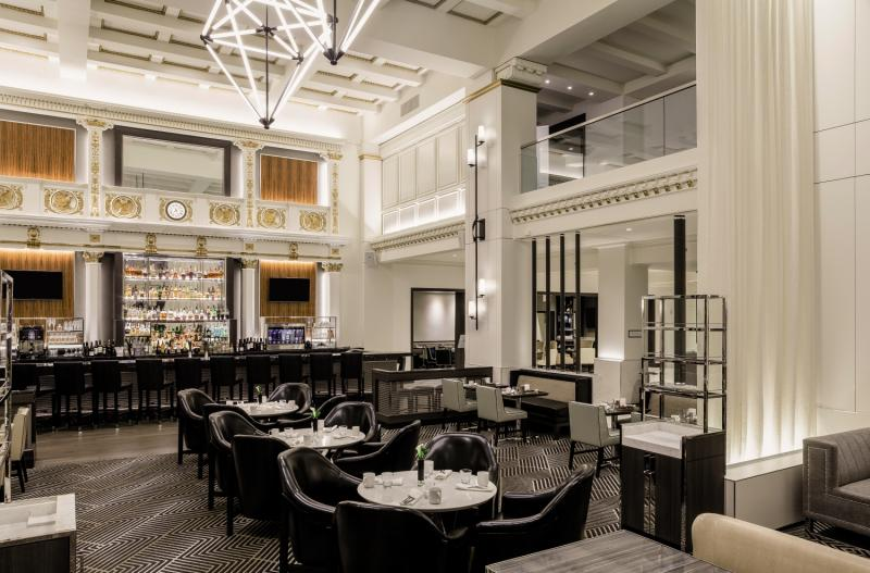 The Boston Park Plaza & Towers Lounge/Empfang