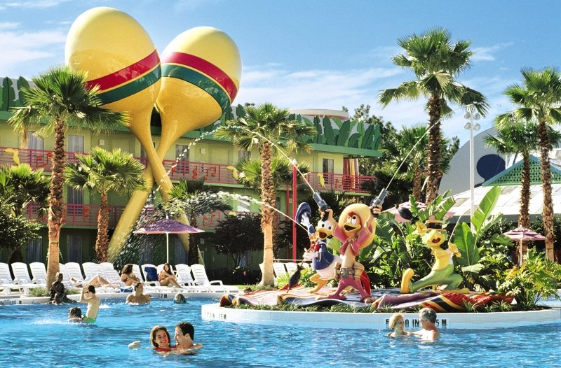 Disney´s All Star Music Resort Pool