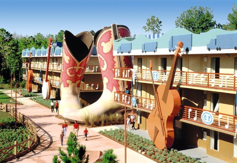 Disney´s All Star Music Resort Außenaufnahme