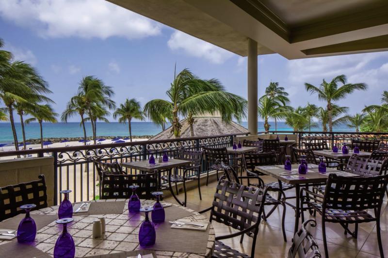 Hilton Barbados Terrasse