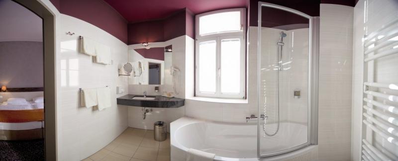 Der Wilhelmshof Badezimmer